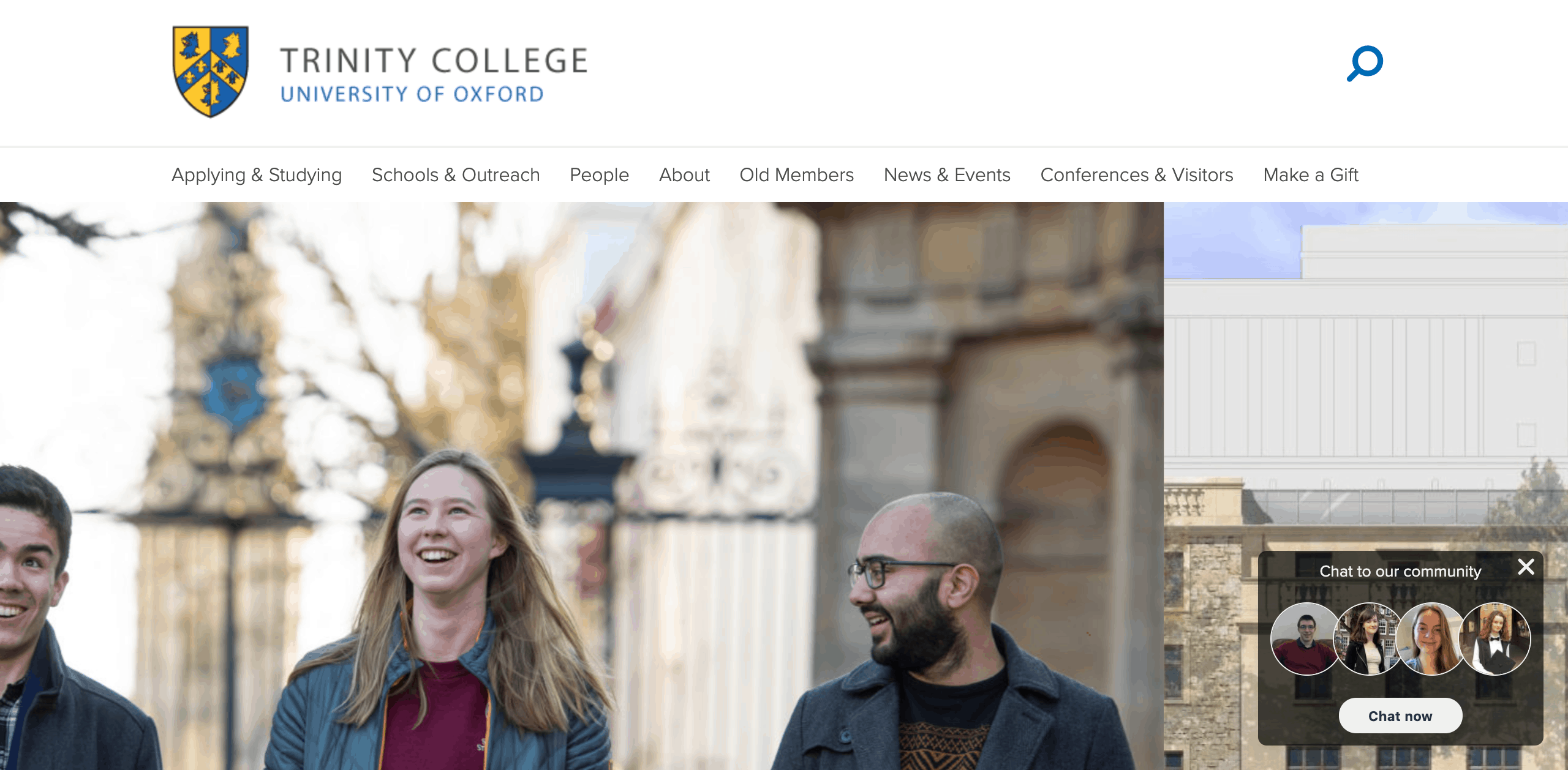 Trinity College Oxford: 2014 ~ WordPress development expert