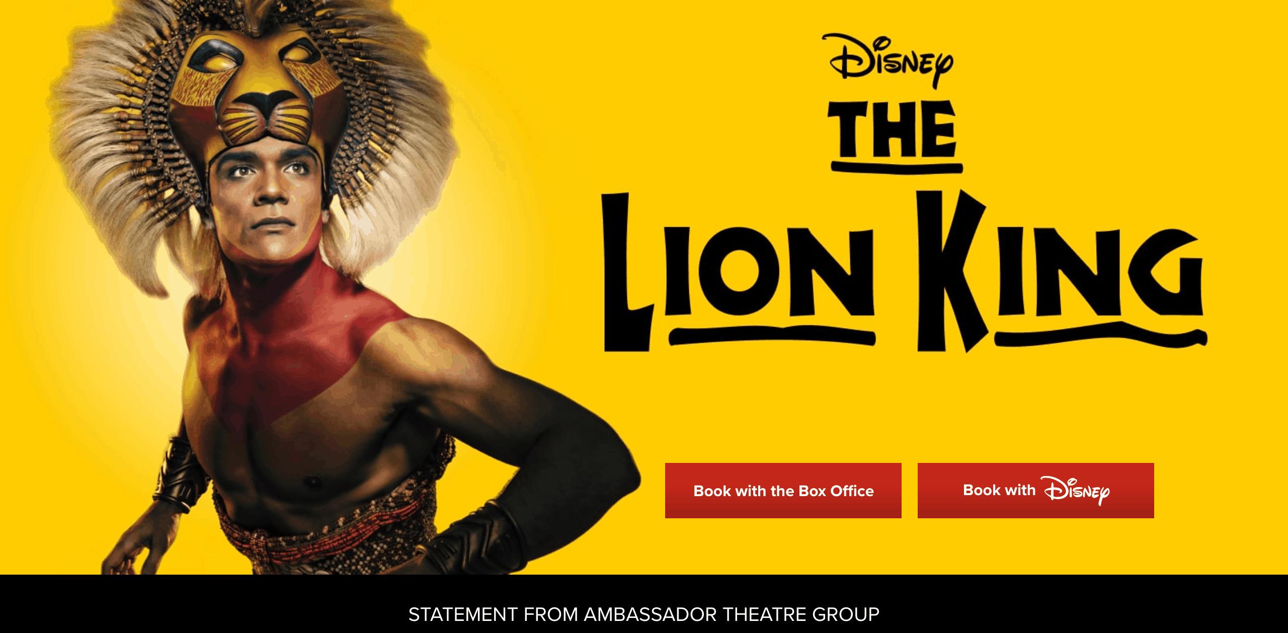 The Lion King: 2016 ~ WordPress development expert